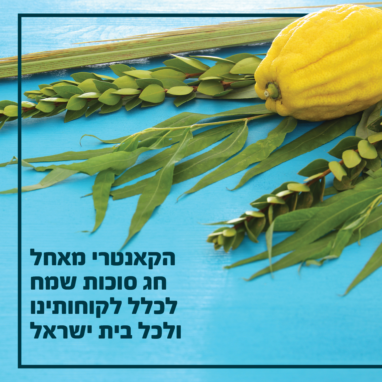 הקאנטרי מאחל חג סוכות שמח לכלל לקוחותינו ולכל בית ישראל